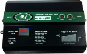 WIDE BAND BOOSTER DBY DA-120 PLUS